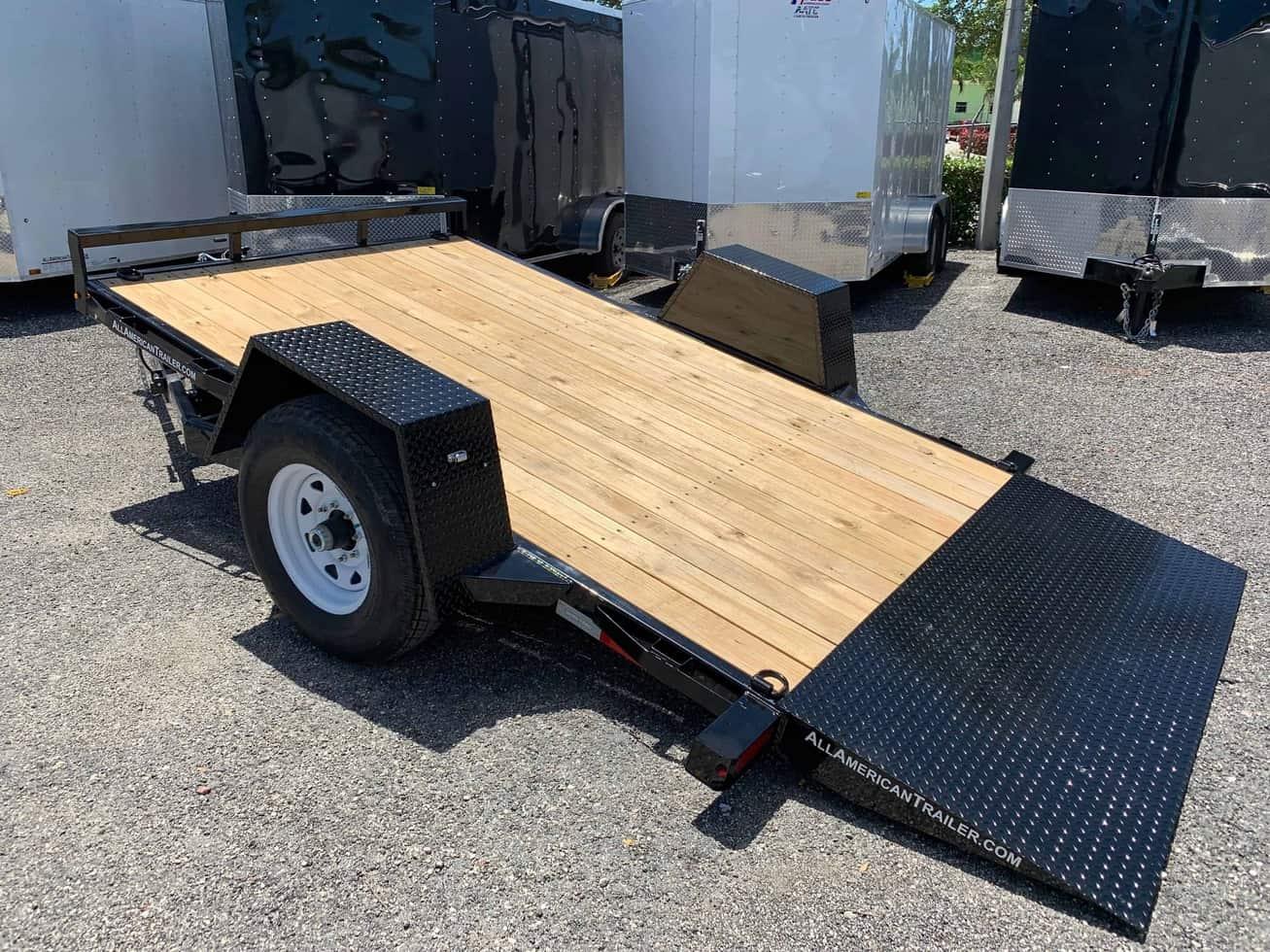 sure trac 6 5x12 single axle tilt trailer trailer nation Boat Trailer Wiring Harness Boat Trailer Wiring Harness